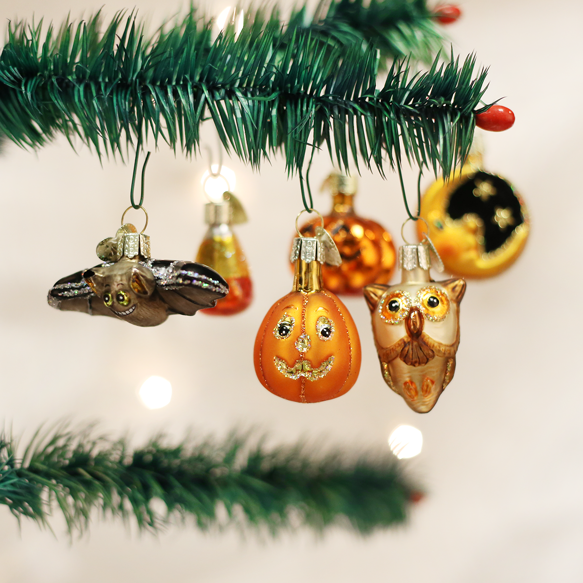 Mini Halloween Assortment Halloween ornaments, Old world