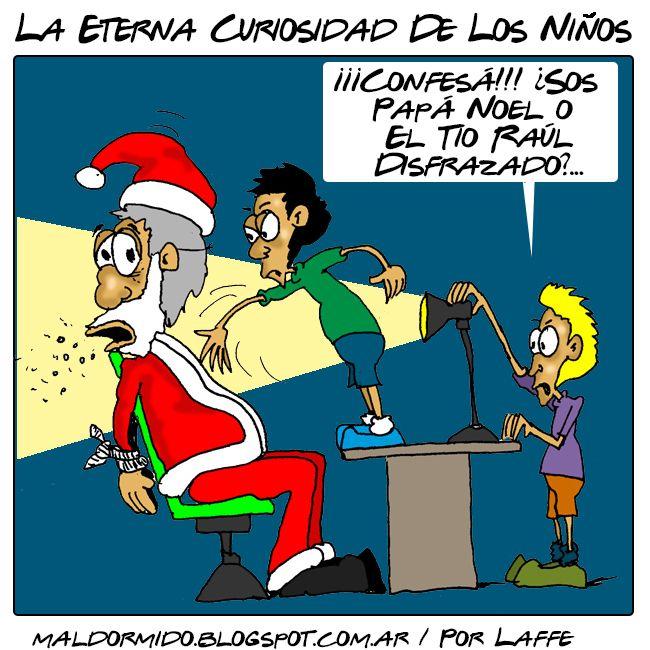Navidad Humor Chiste Papá Noel Santa Claus Niños Curiosidad