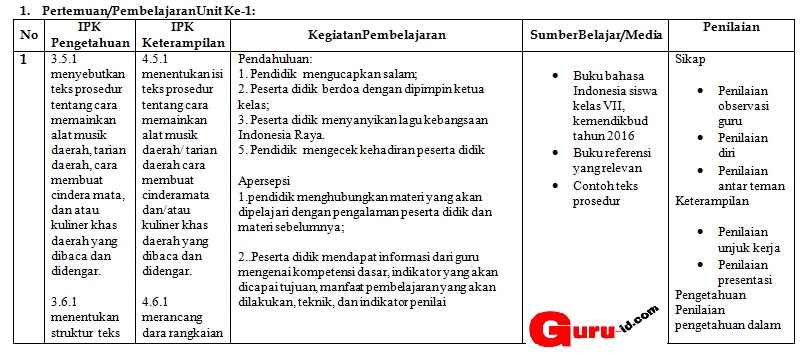 Contoh Rpp Kurikulum Cambridge Download File Guru