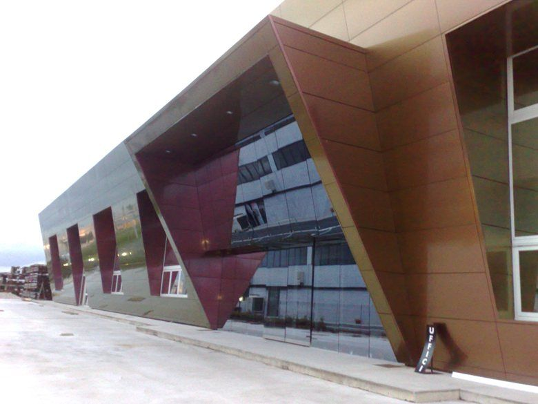 Rivestimento Prospetto Alucobond Picture Gallery Gallery