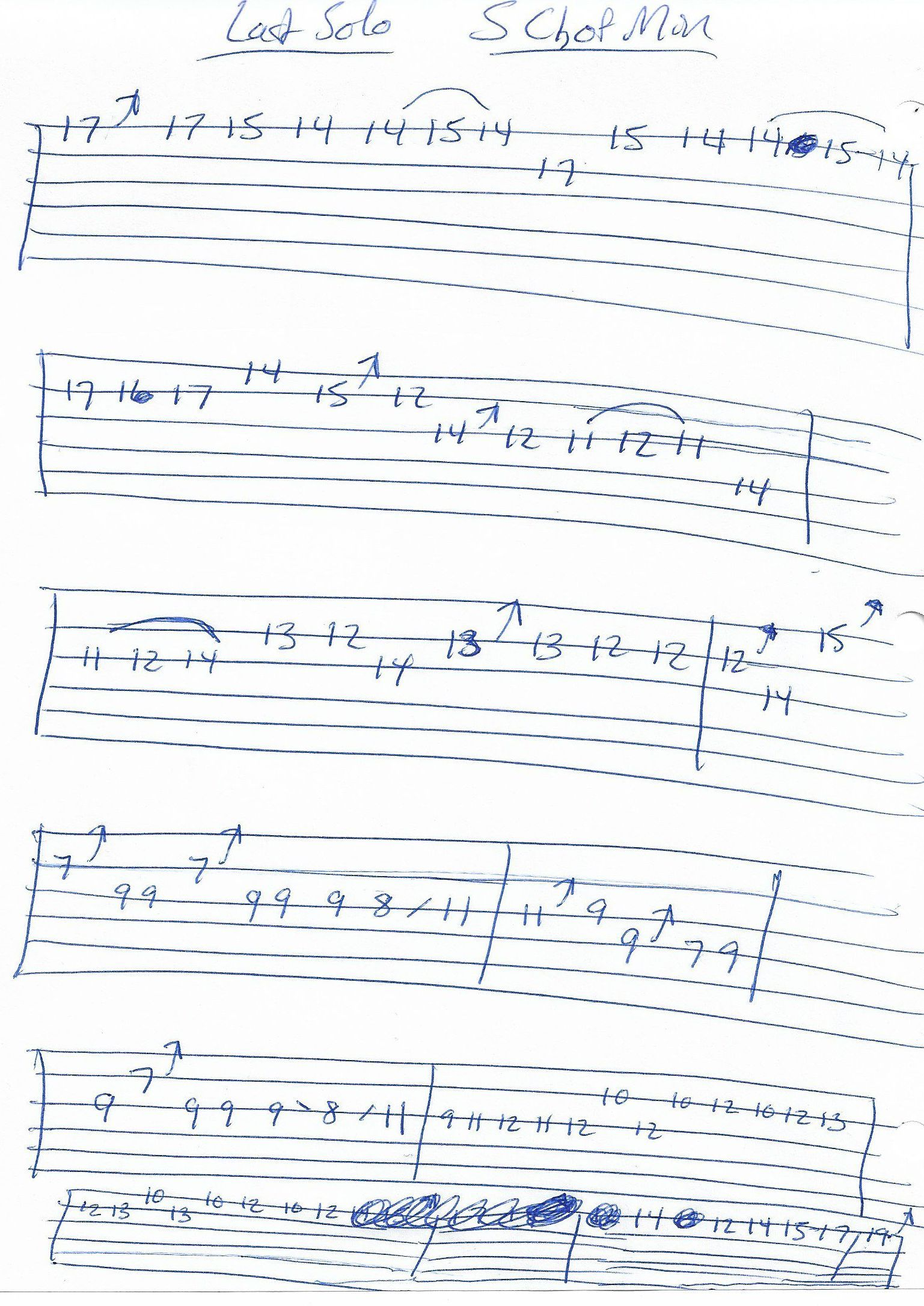 Sweet Child Of Mine Guns Roses Guitar Solo Tab Last Solo