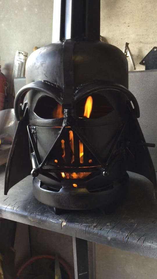 Check Out These Star Wars Character Inspired Fire Pitts