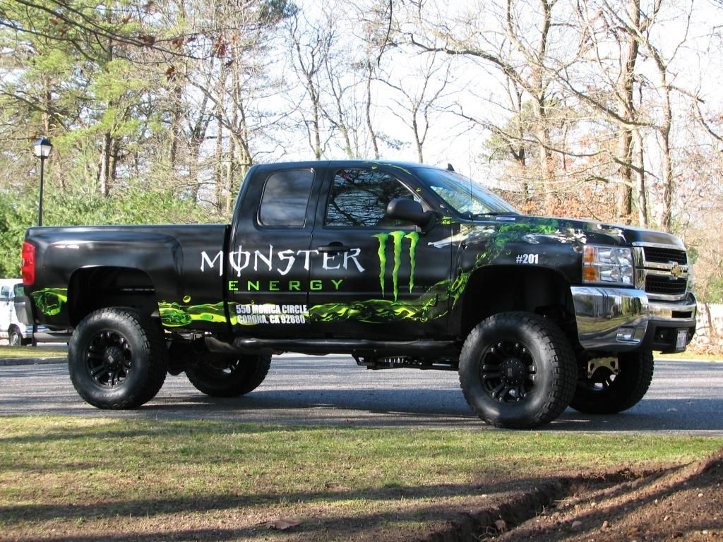 Trucks Vehicles Wallpaper 1024x768 Monster Energy