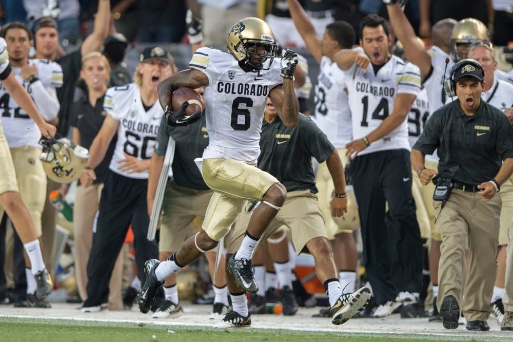 Paul Richardson 6 Colorado Buffaloes Wr Love Me Some P Rich Go
