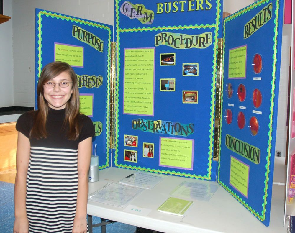 Hand Sanitzer Comparison For First Grade Science Fair Project