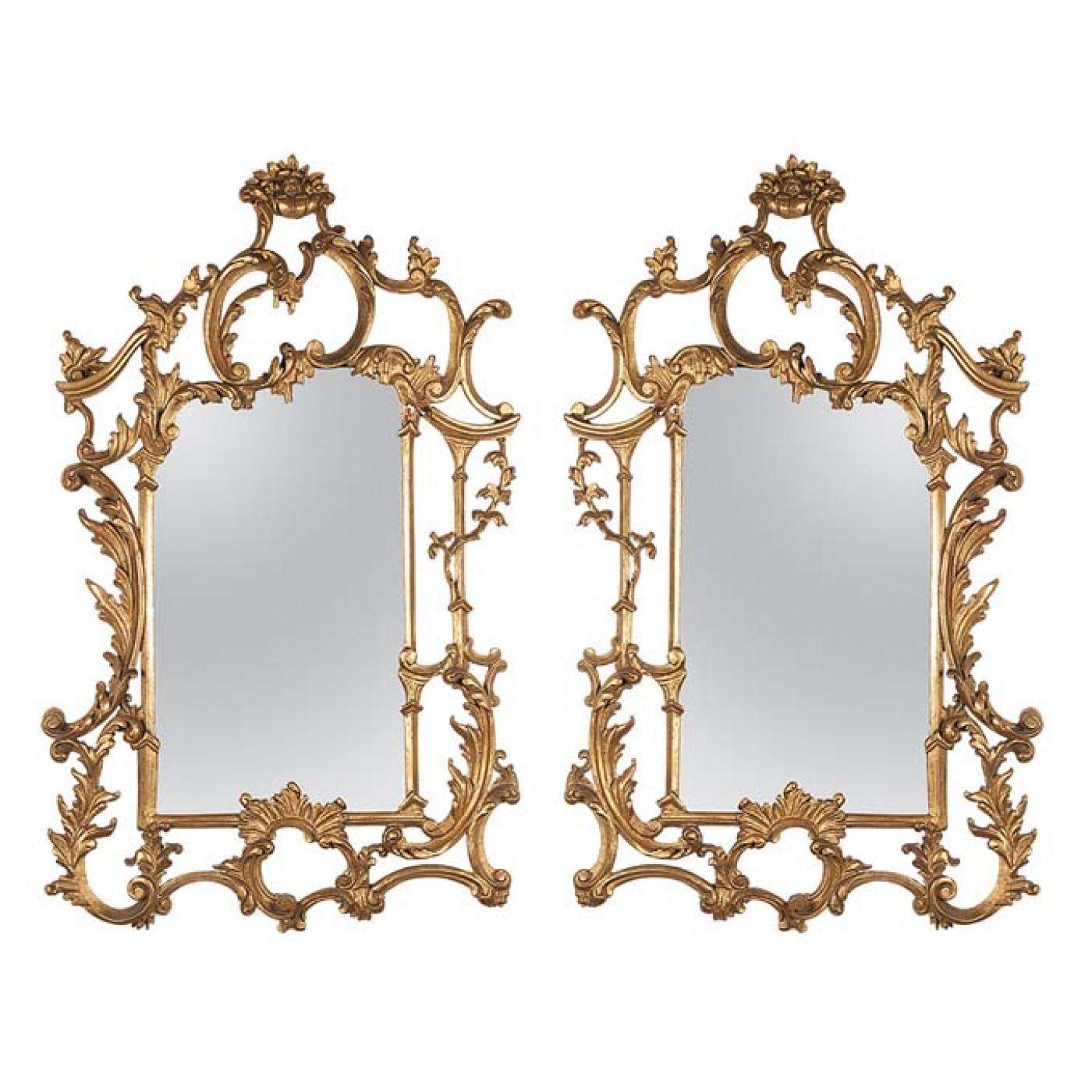 www.iarremate.com Leilão Villa Antica dia 05 e 06 de agosto às 20:30h! Lote 0293 Par de espelhos retangulares, emoldurados por madeira entalhada e dourada, fenestrada entre motivos florais de inspiração barroca. 90 x 60 cm. Brasil, séc. XIX. #espelho #decoração #arquitetura #antiguidades #escultura #beleza #villaantica #iarremate #florpimentelmidia
