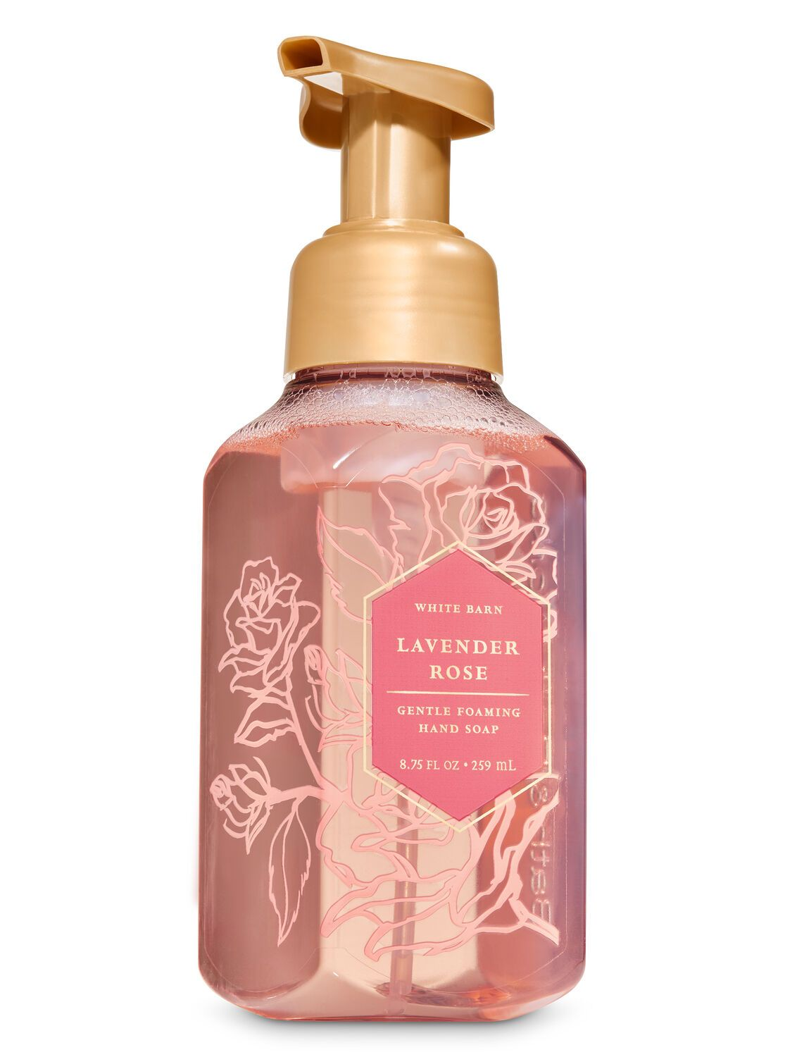 Bath Body Works Lavender Rose Gentle Foaming Hand Soap In 2020