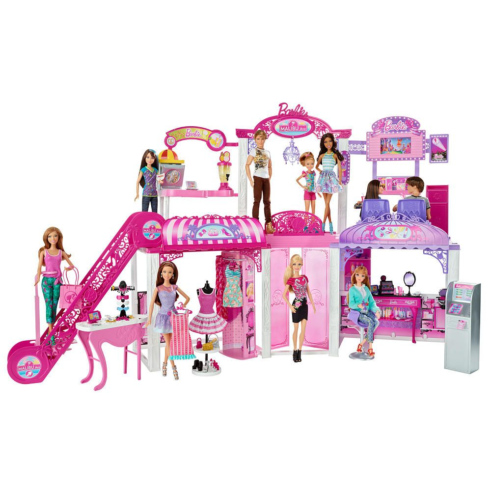Malibu Shopping Mall Attention ShoppersI Found This Great Barbie Sold Exclusively