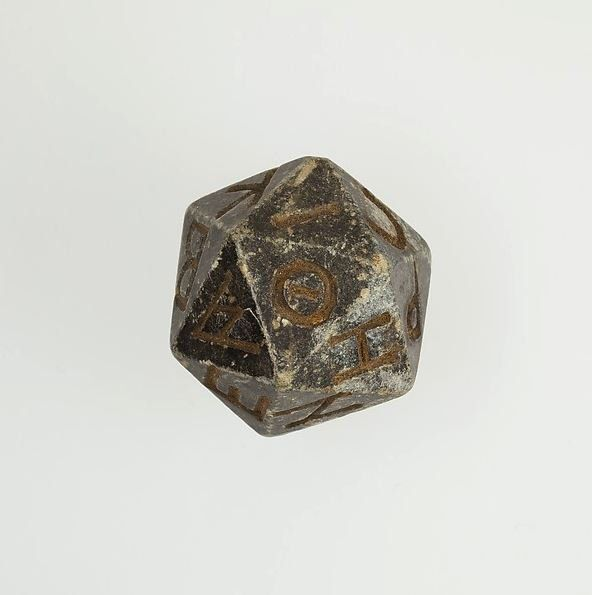 WorldAndScience: Few things are more human than games this is a 20 sided Egyption dice from 200 B.C https://t.co/CbUYMzCW6s