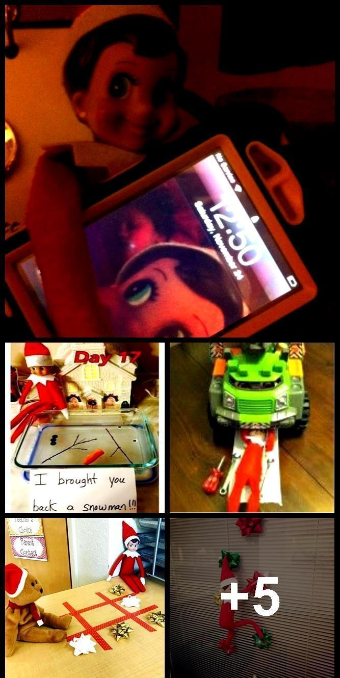 Funny Elf On The Shelf Ideas For Kids . Funny Elf On The Shelf Ideas , #Elf #Funny #Ideas #K...