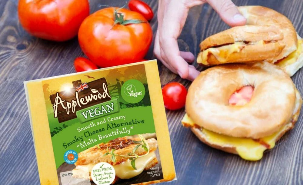 Exclusive Vegan Applewood Cheese Outselling Dairy Option Food Awards Vegan Cheese Meat Free Recipes