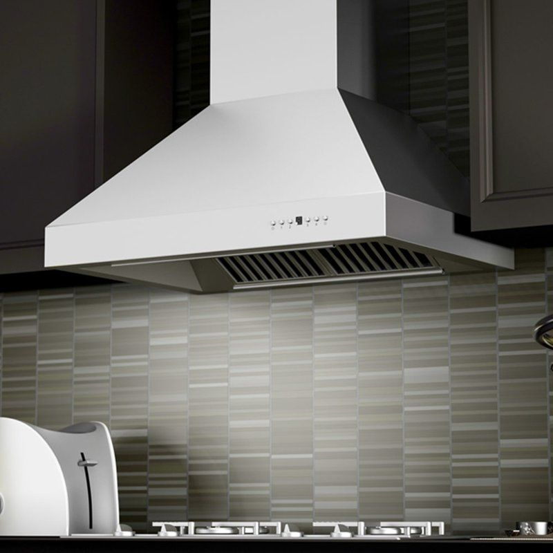 48 Zline 1200 Cfm Ducted Wall Mount Range Hood With Images Wall Mount Range Hood Range Hood Stainless Steel Range Hood