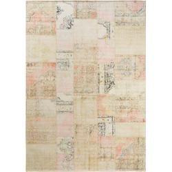 Photo of benuta Teppich mit Print Jelle Multicolor/Beige 120×180 cm – Vintage Teppich im Used-Look benuta