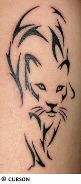 Tattoo Pantera Tribale