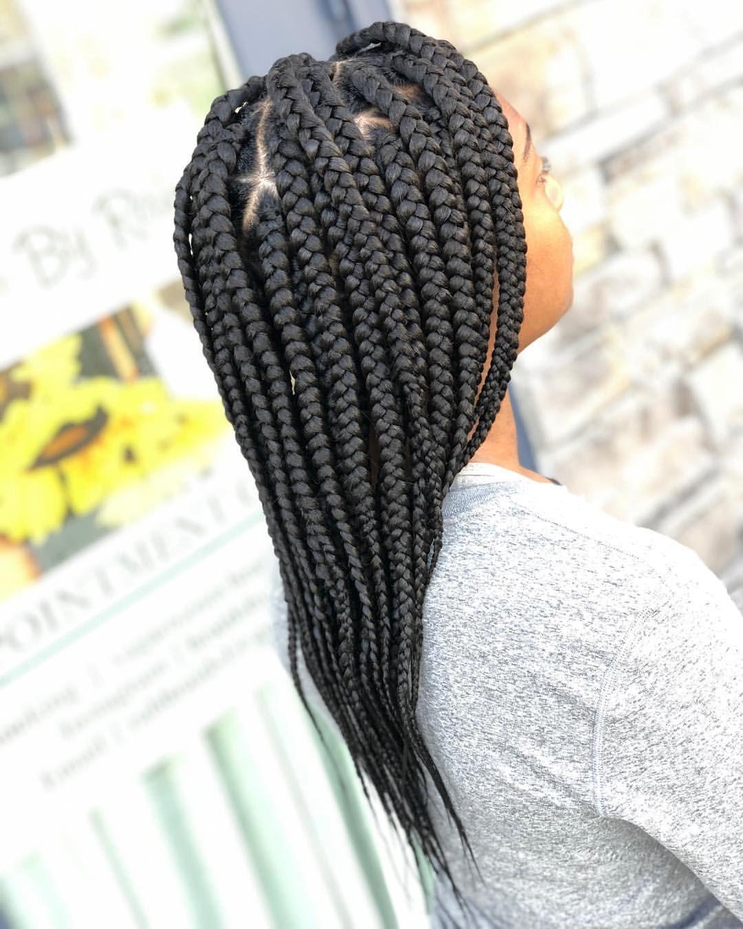 25+ Mid back braids inspirations
