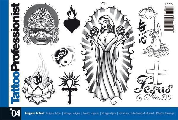 Professionalseries4tattoobookonreligioussymbols Italy
