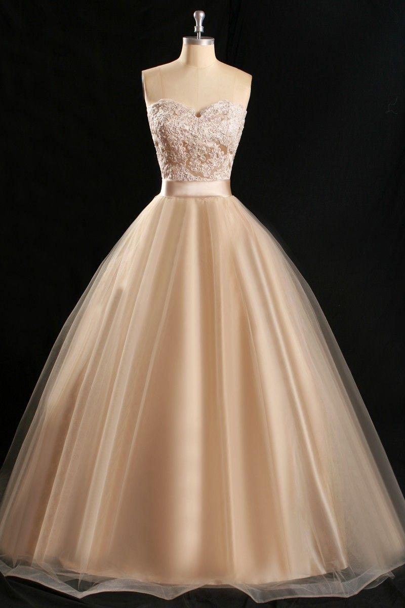 Vintage lace champagne bridesmaid dresses sweetheart satin sash