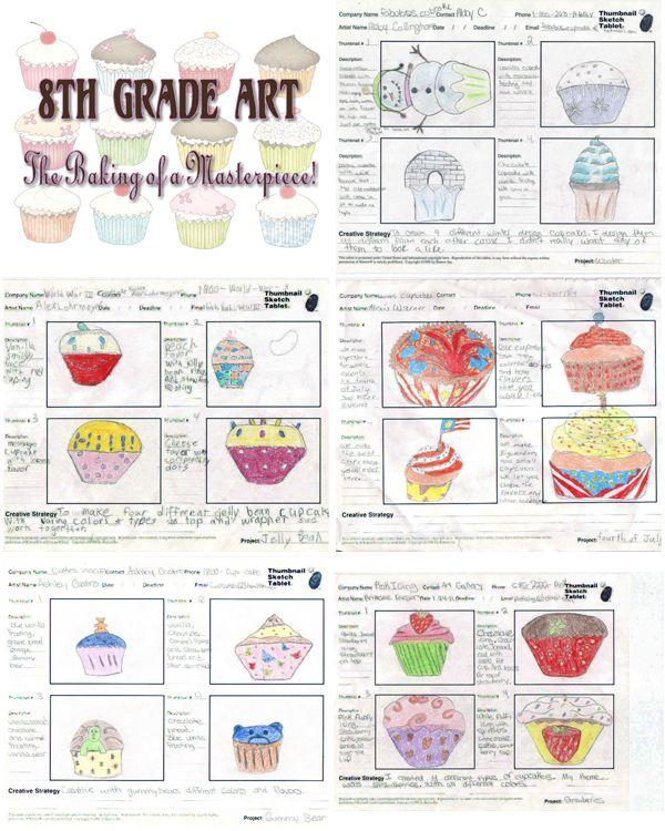 Visual Arts Curriculum: 8th Grade Artwork & Curriculum