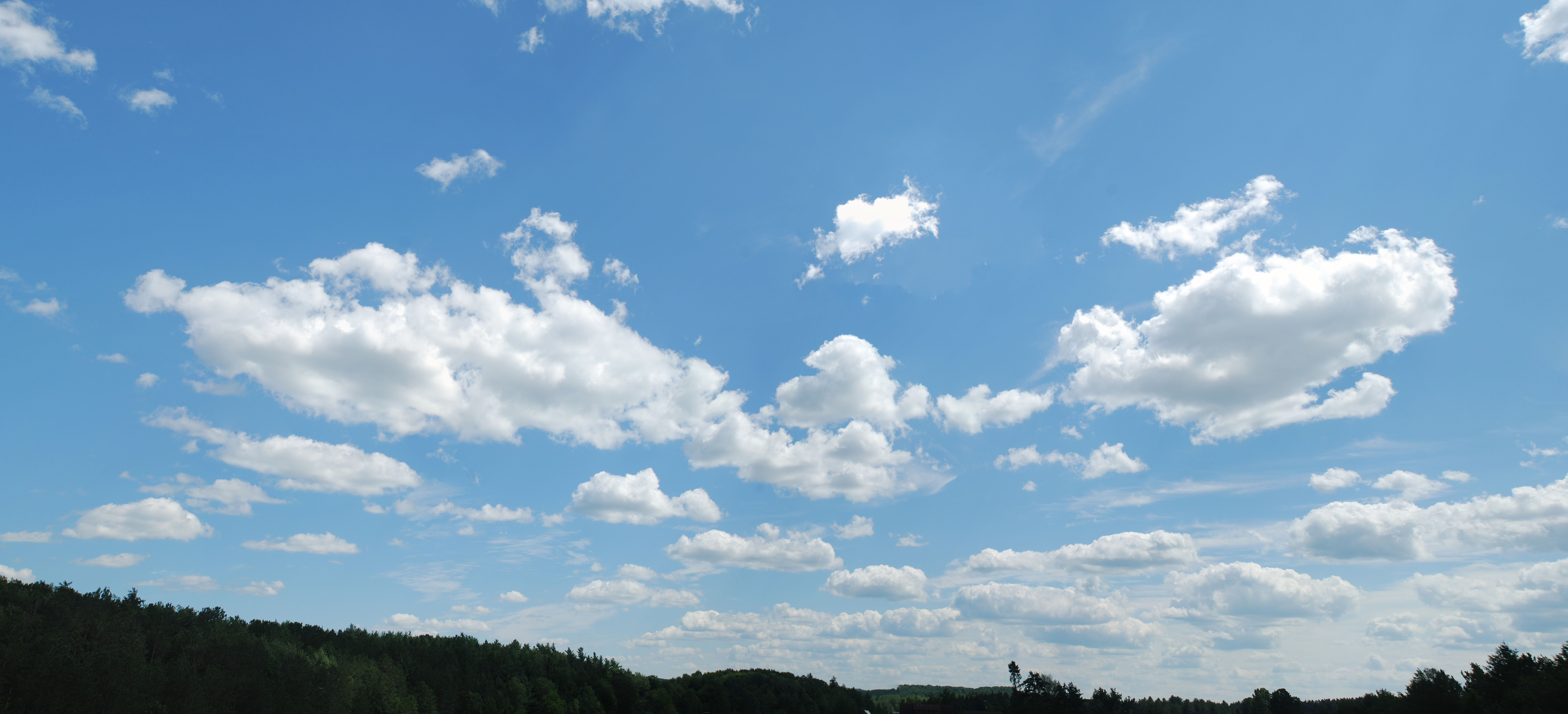 Blue Sky With Clouds Wallpaper 56 Images: A Useful Sky Background To Drop Into Architecture