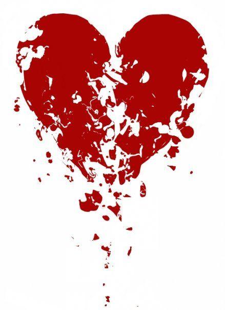 Shattered Heart Broken Heart Tattoo Broken Heart Tattoo Designs Broken Heart Art