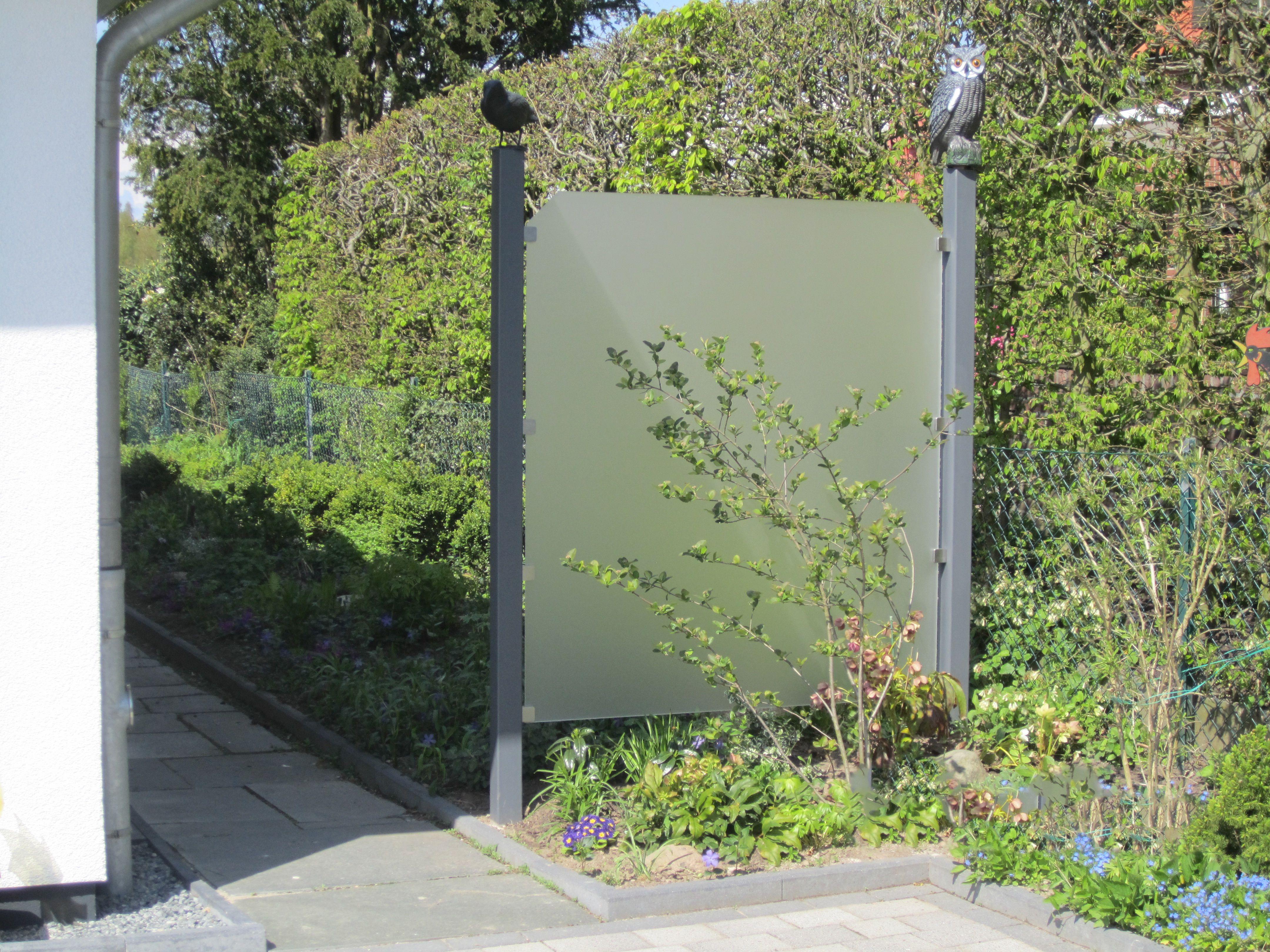 Die Diy Schutzwand Fur Ihren Garten Aus Acrylglas Satiniert Weiss