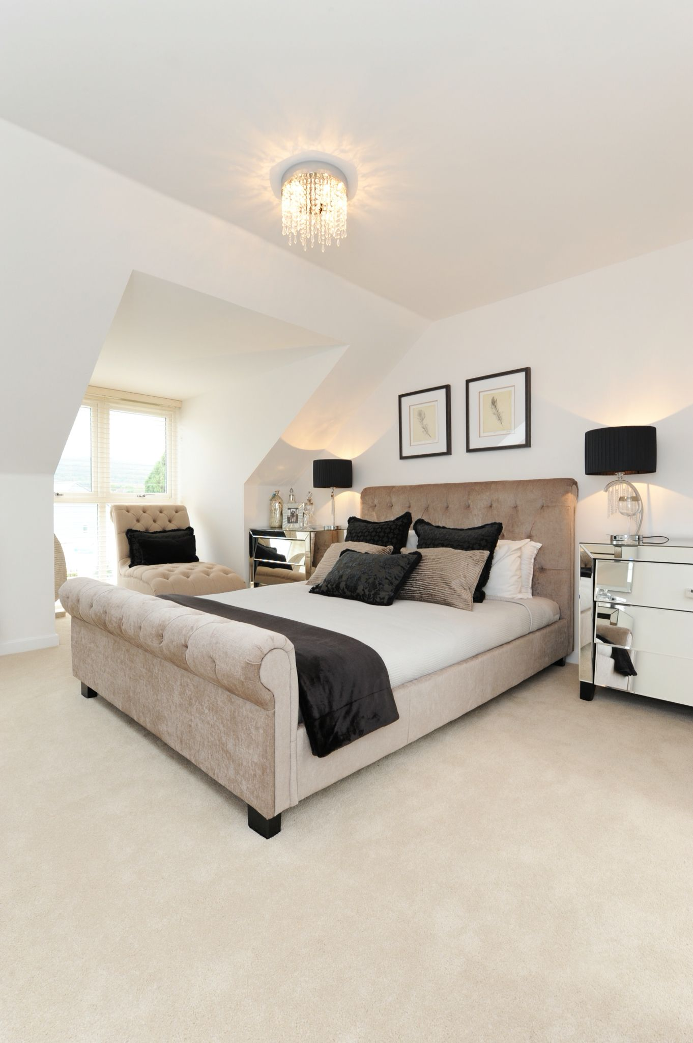 Neutral Master Bedroom Master Bedroom In The Malvern Home Folkestone Newhome Showhome