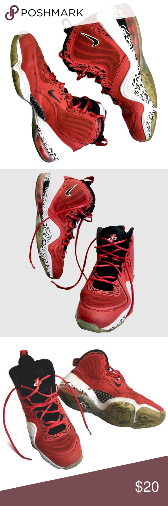 Nike Air Penny 5 GS Basketball Shoe in 2020 (With images