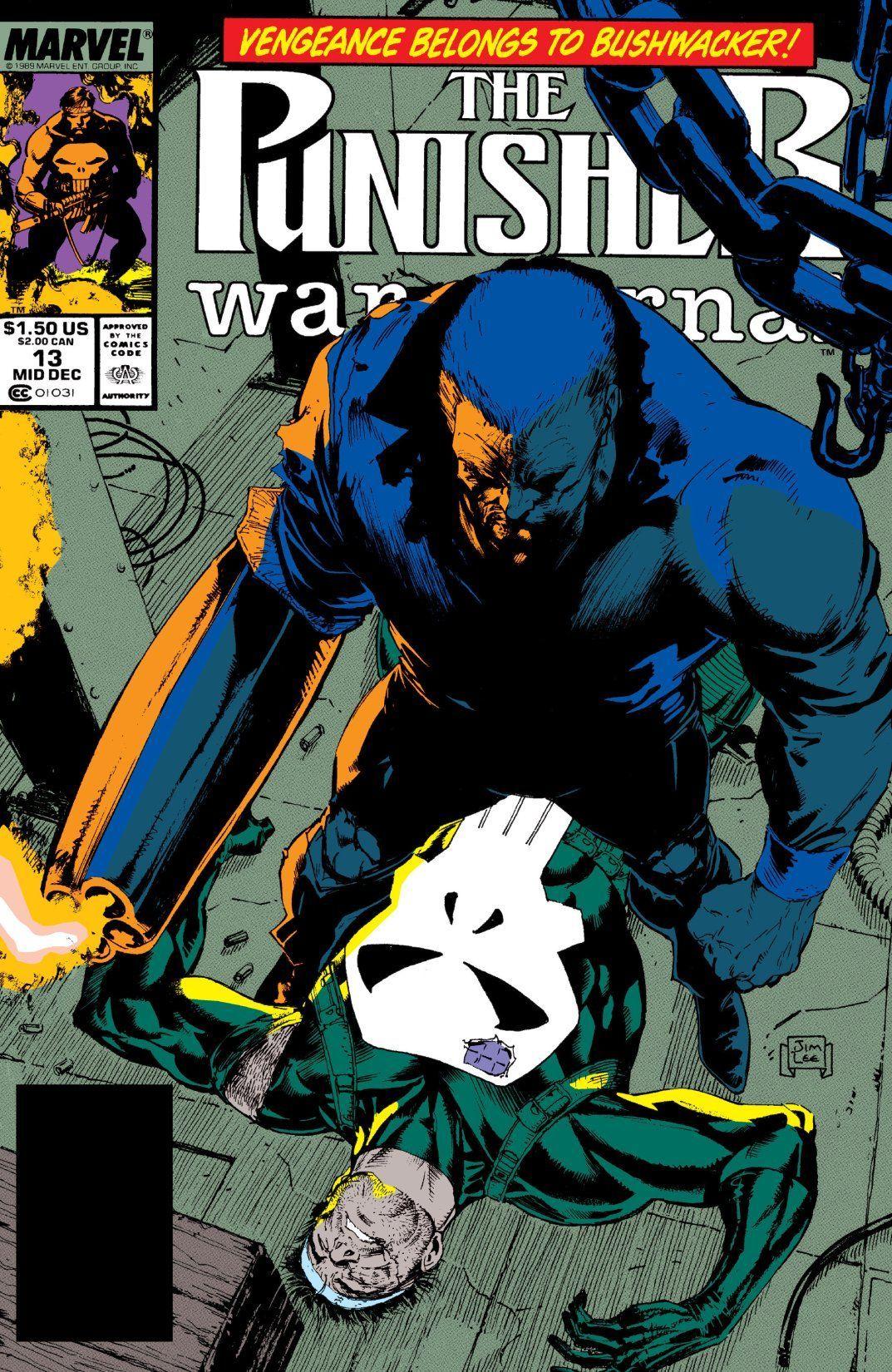 Punisher War Journal (1988-1995) #13