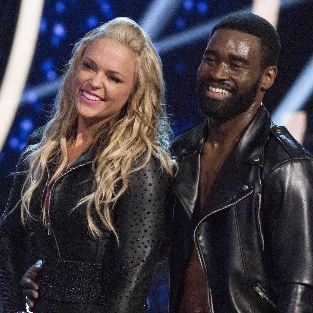 DWTS Athletes' Keo Motsepe and Jennie FinchDaigle on