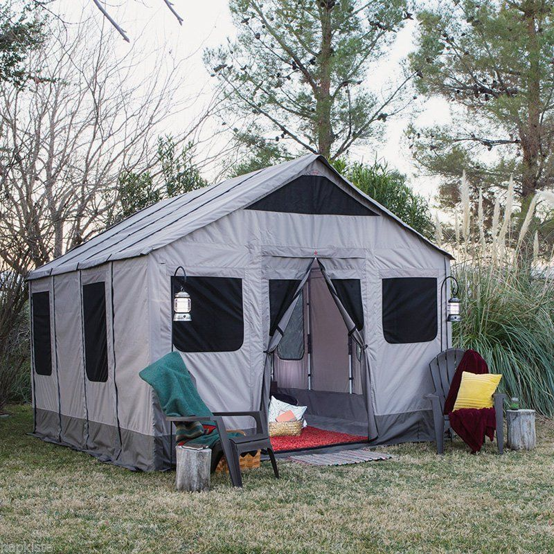 Safari cabin tent large outdoor survival shelter 8 person for What is a tent cabin
