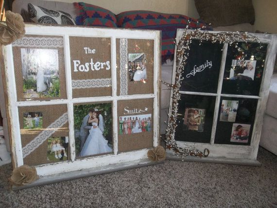 Primitive old window picture frame | Ventana