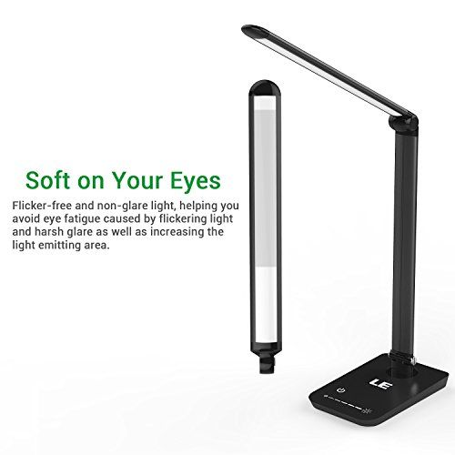 Le Dimmable Led Desk Lamp 7 Dimming Levels Eye Care 8w