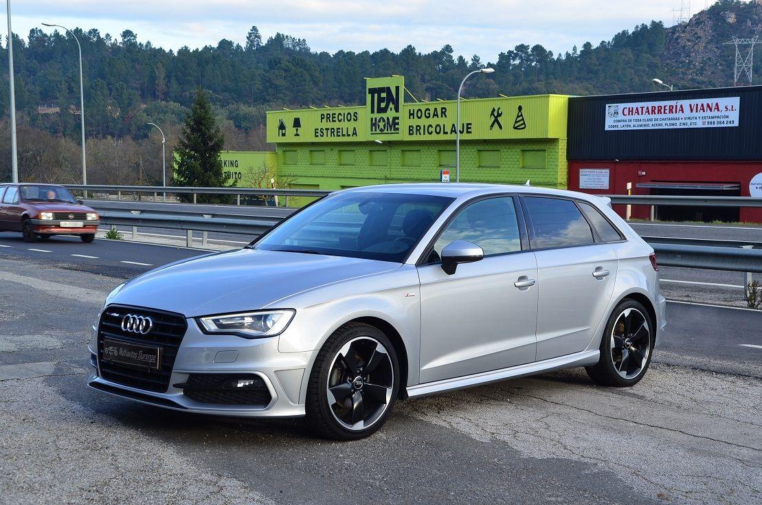 Audi A3 Sportback 2.0 tdi 150cv SLine 2015. Unico