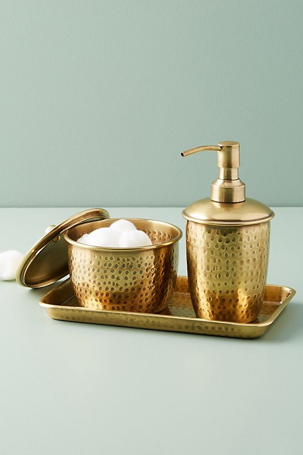 Hammered Brass Bath Collection | Bath, Apartments and Design trends