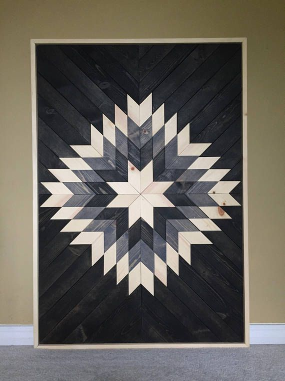 Modern Wood Art,Wood Wall Art,Geometric Wood Art,Reclaimed Wood Wall Art