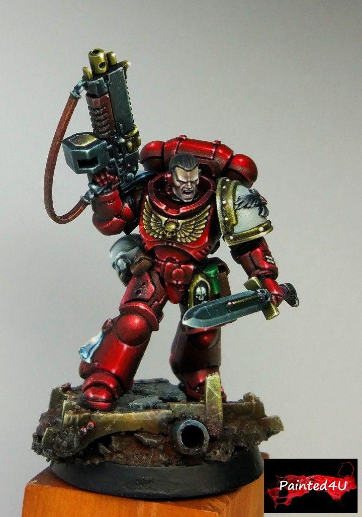 Primaris Blood Ravens Captain Painting Warhammer 40000