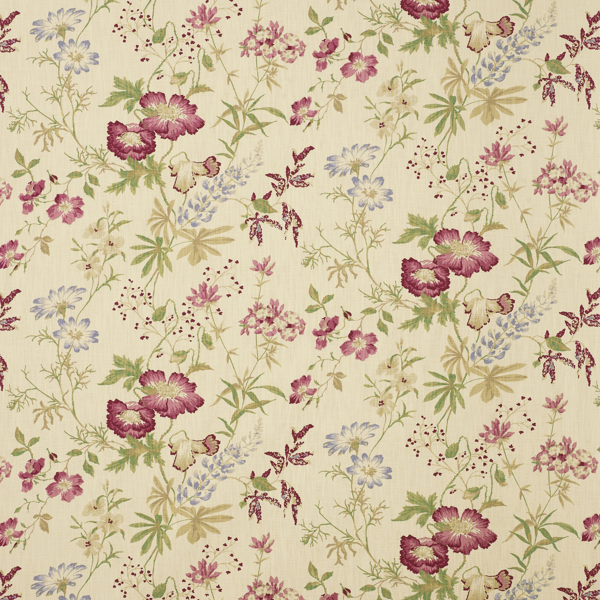 Floral print fabrics from the uk fabrics drape for Space curtain fabric