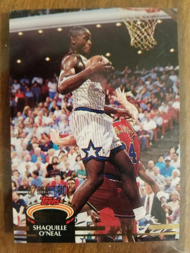 1992 topps shaquille oneal 150 basketball card
