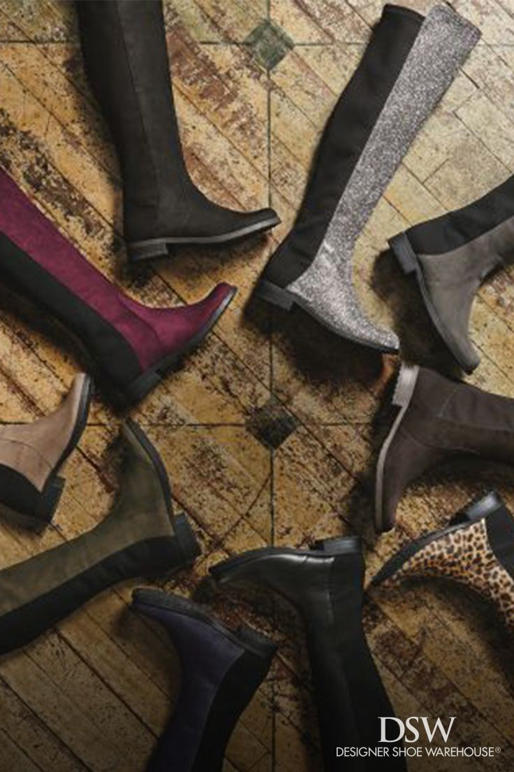 Keep color around this fall with a pair of Unisa Gillean over the knee boots. Available in bordeaux, silver, leopard, navy, black, grey, taupe, brown and olive.