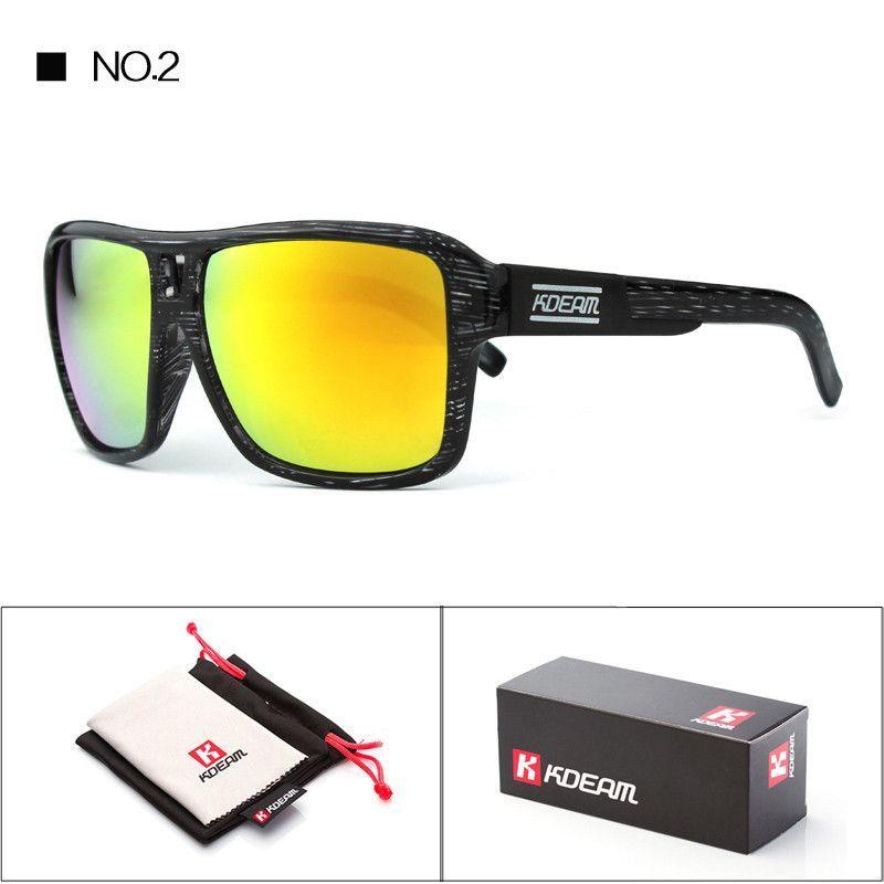 Sports Goggles With Free Box Dragon Sunglasses Men Brand Driving Glasses Lunette De Soleil Zonnebril in Kdeam CE KD12028