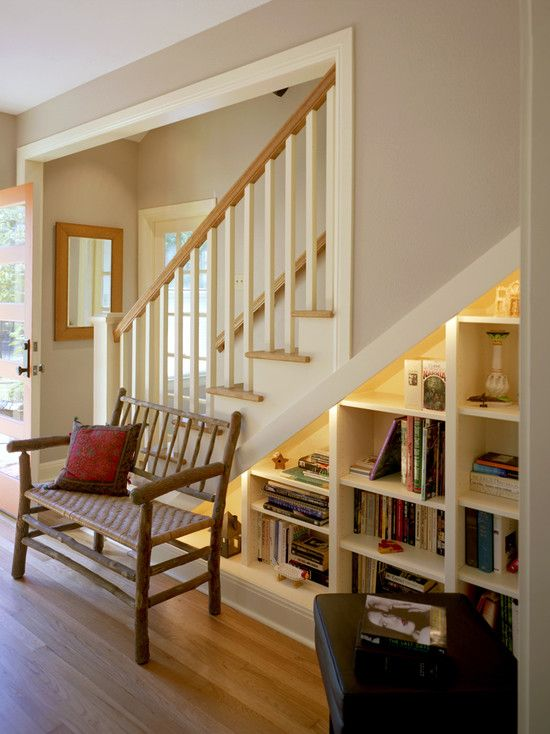 Stair Bookcase under stair bookcase design, pictures, remodel, decor and ideas