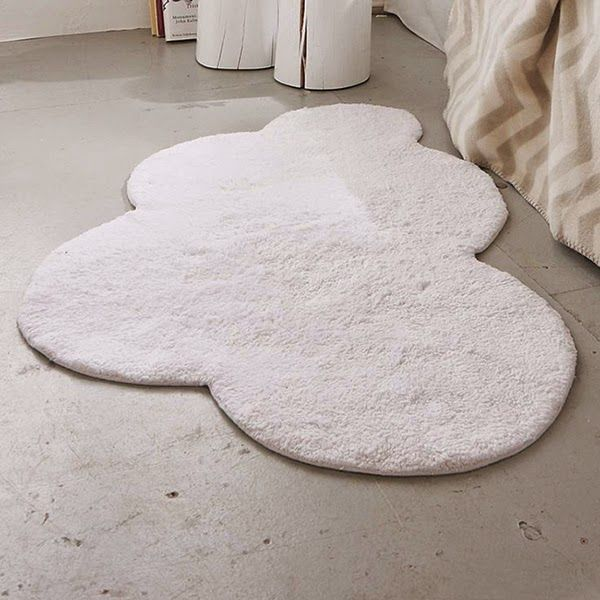 IDEAS DECO LOW COST: DIY ALFOMBRA NUBE | Baby diy, Alfombras
