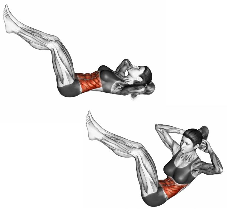 9 effektive Übungen für einen starken Bauch   Übungen