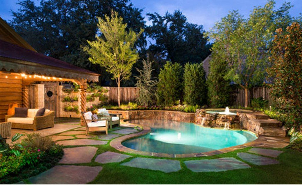 Attractive-pool-ideas-for-small-backyard & Full Size Of ...