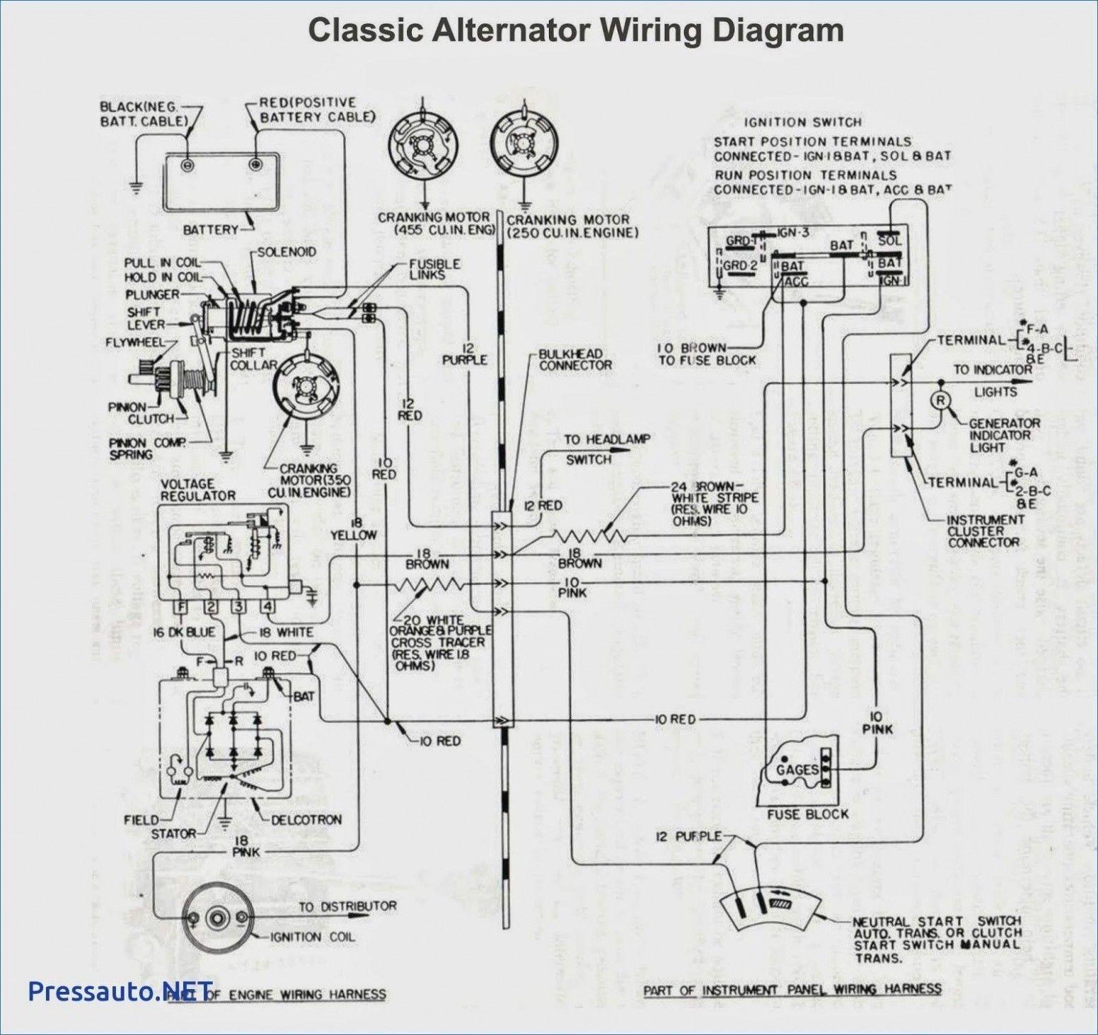 Northstar Engine Wiring Diagram In 2020