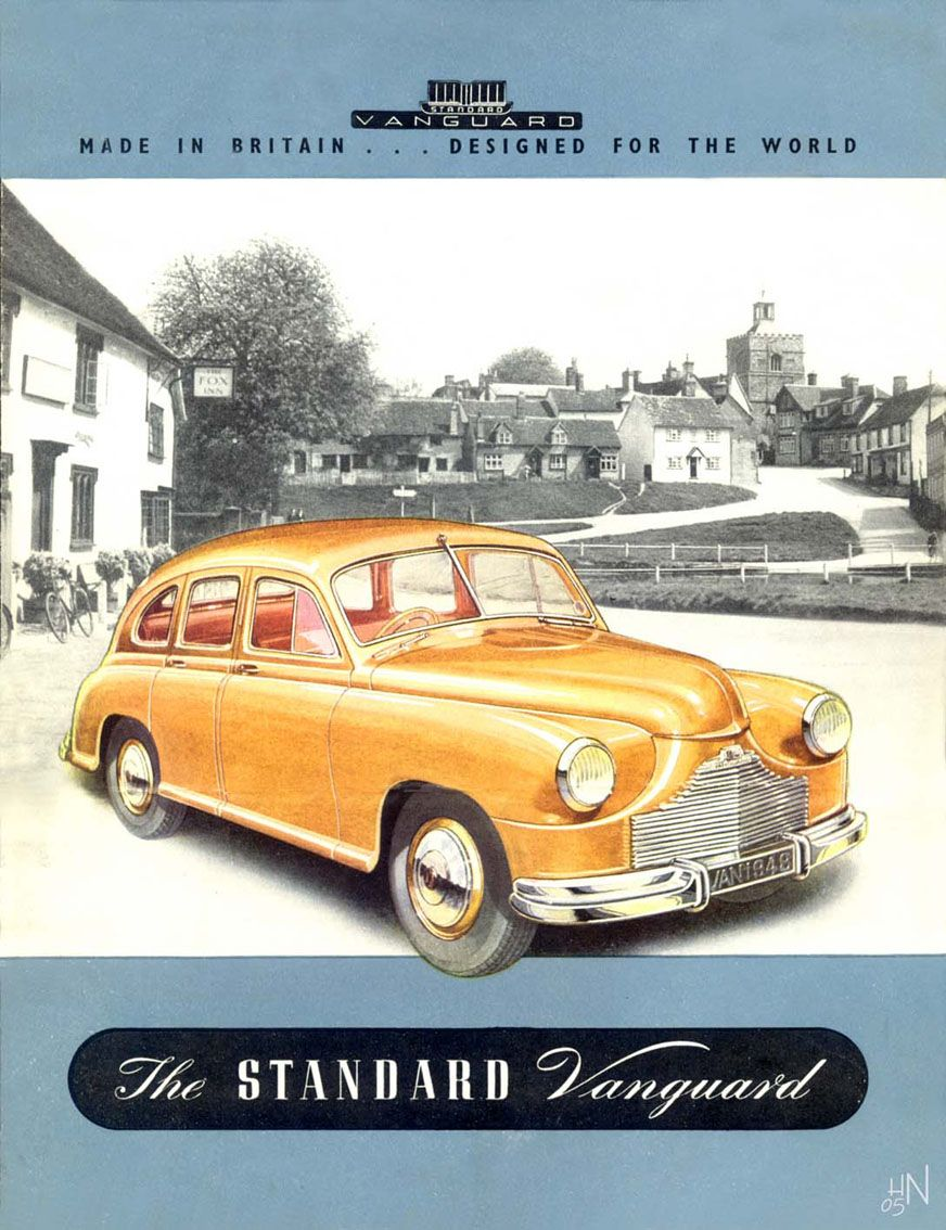 1948 Standard Vanguard | Classic Marques - Standard | Pinterest