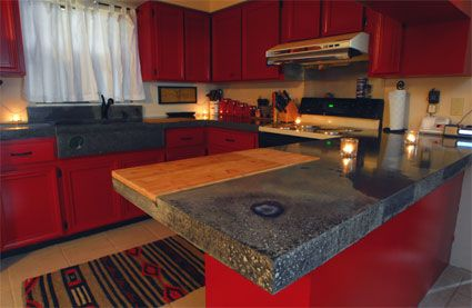 Concrete Counter Tops   Custom Kitchen Counter Tops   Concrete Benders Of St.  Augustine,