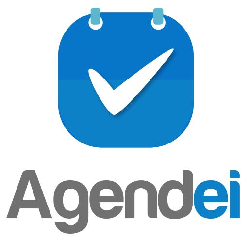 Logo desenvolvido para aplicativo de agendamento online