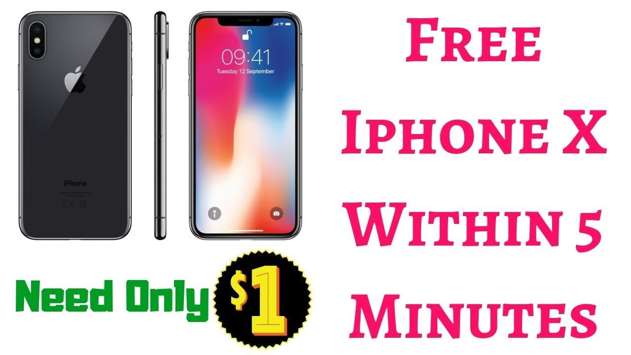 Free Iphone X - How to Get Iphone Within 5 Minutes   Special