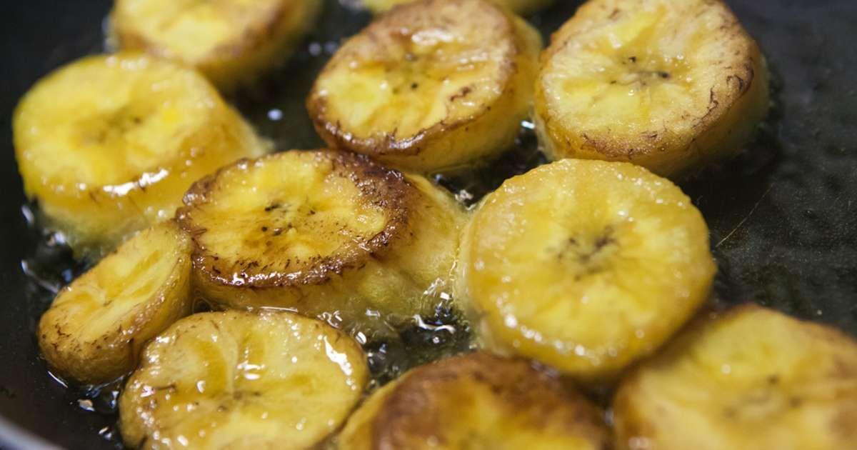 Banane plantain – Recette de bananes plantain frites ou sautées – Recette par Chef Simon
